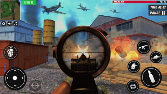 اسکرین شات بازی US War Special Ops : FPS ww gun shooting games 4