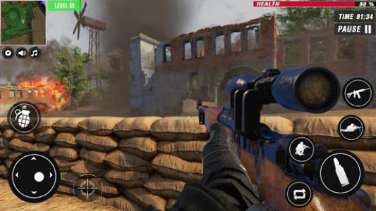 اسکرین شات بازی US War Special Ops : FPS ww gun shooting games 5