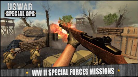 اسکرین شات بازی US War Special Ops : FPS ww gun shooting games 2