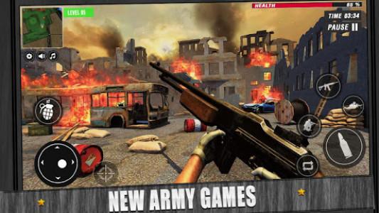 اسکرین شات بازی US War Special Ops : FPS ww gun shooting games 3