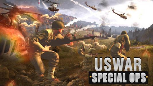 اسکرین شات بازی US War Special Ops : FPS ww gun shooting games 1