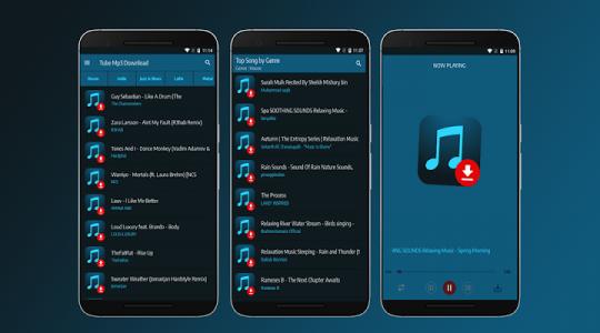 اسکرین شات برنامه Tube Mp3 Download - Free Music Downloader 1