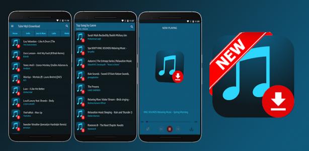 اسکرین شات برنامه Tube Mp3 Download - Free Music Downloader 3