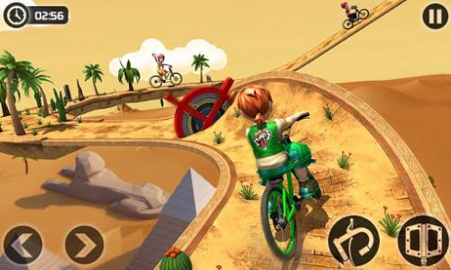 اسکرین شات بازی Fearless BMX Rider 2: Impossible Bike Stunts 2020 2