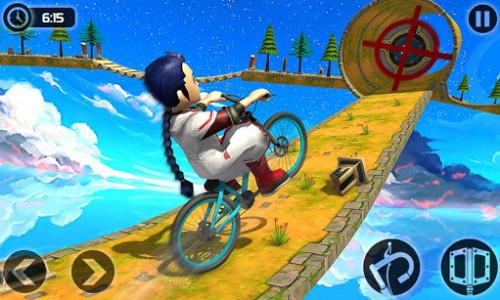 اسکرین شات بازی Fearless BMX Rider 2: Impossible Bike Stunts 2020 6