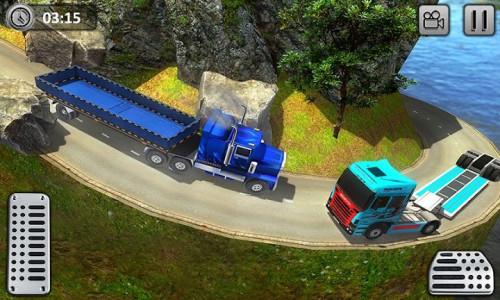 اسکرین شات برنامه Uphill Gold Transporter Truck Drive 6