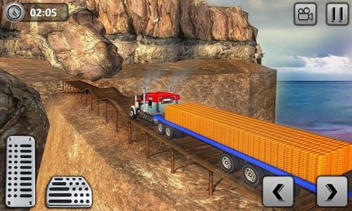 اسکرین شات برنامه Uphill Gold Transporter Truck Drive 5