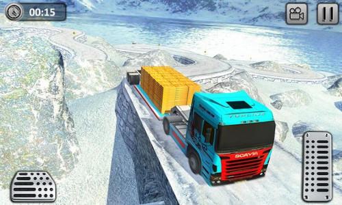 اسکرین شات برنامه Uphill Gold Transporter Truck Drive 2