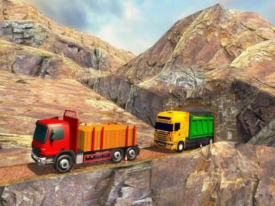اسکرین شات برنامه Uphill Gold Transporter Truck Drive 7