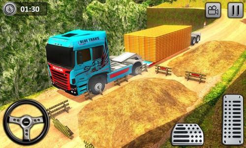 اسکرین شات برنامه Uphill Gold Transporter Truck Drive 4