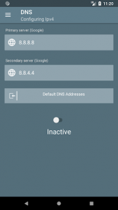 اسکرین شات برنامه DNSChanger for IPv4/IPv6 - Open source and ad-free 6