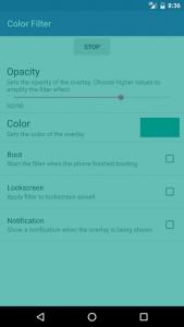 اسکرین شات برنامه Color Filter 4