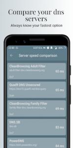 اسکرین شات برنامه Nebulo - DNS Changer for DNS over HTTPS/TLS 6
