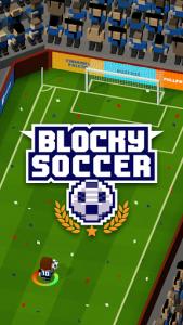 اسکرین شات بازی Blocky Soccer 1