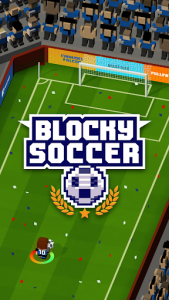 اسکرین شات بازی Blocky Soccer 7