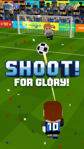 اسکرین شات بازی Blocky Soccer 3