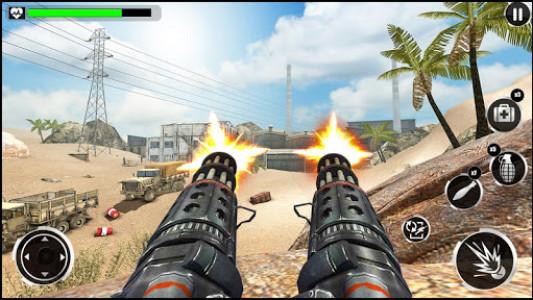 اسکرین شات بازی Army War Shoot Fire :Gunship Gunner Guns Simulator 6