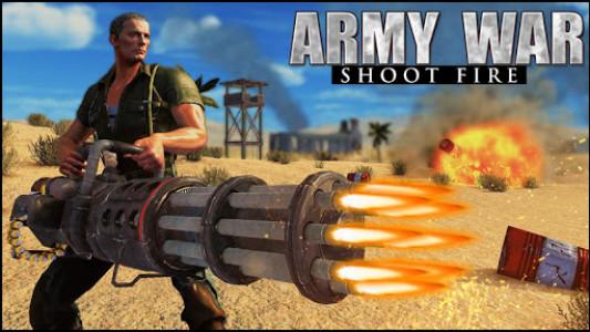 اسکرین شات بازی Army War Shoot Fire :Gunship Gunner Guns Simulator 7