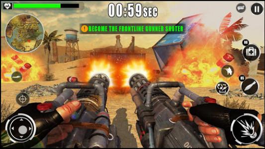 اسکرین شات بازی Army War Shoot Fire :Gunship Gunner Guns Simulator 4