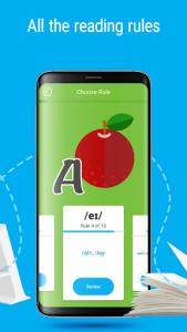 اسکرین شات برنامه Learn English: alphabet, letters, rules & sounds 2