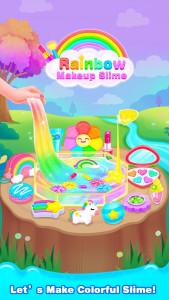 اسکرین شات برنامه Rainbow DIY Makeup Kit Slime –Unicorn Star Slime 1