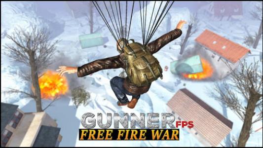 اسکرین شات بازی Gunner FPS Free Fire War : Offline Shooting Game 8