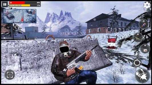 اسکرین شات بازی Gunner FPS Free Fire War : Offline Shooting Game 4