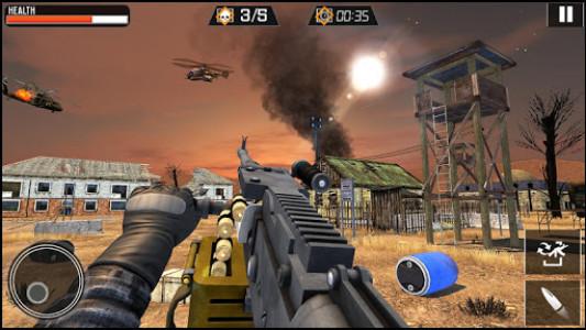 اسکرین شات برنامه Modern Gun Strike - Fun Shooting Games 8