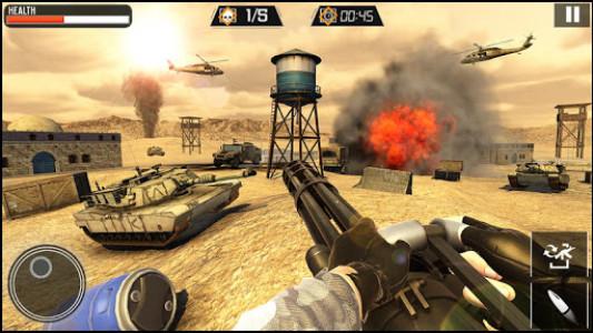 اسکرین شات برنامه Modern Gun Strike - Fun Shooting Games 1