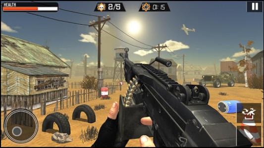 اسکرین شات برنامه Modern Gun Strike - Fun Shooting Games 3