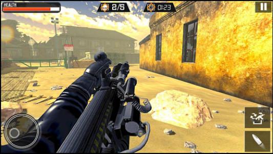 اسکرین شات برنامه Modern Gun Strike - Fun Shooting Games 7