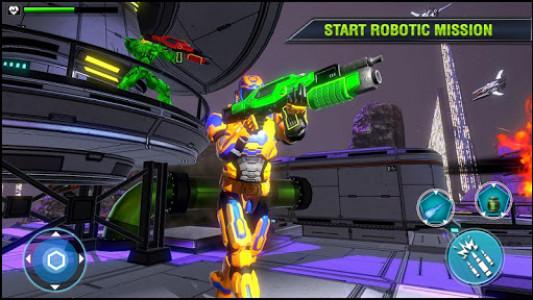 اسکرین شات بازی Robo Fire Legacy: Free Robot War Battlefield 3