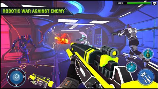 اسکرین شات بازی Robo Fire Legacy: Free Robot War Battlefield 6