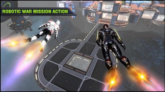 اسکرین شات بازی Robo Fire Legacy: Free Robot War Battlefield 7