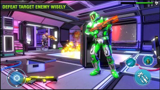 اسکرین شات بازی Robo Fire Legacy: Free Robot War Battlefield 4