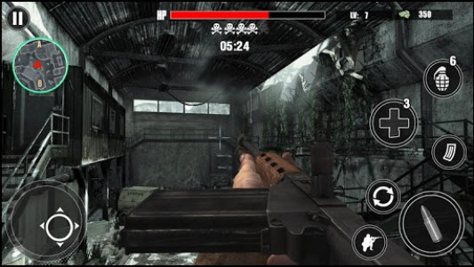 اسکرین شات بازی World War Gunner Guns Simulation Game 3