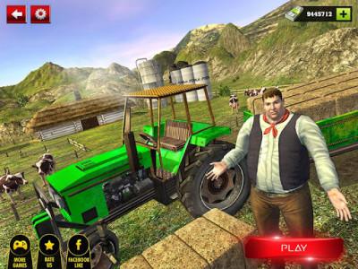 اسکرین شات بازی Offroad Tractor Farmer Simulator 2018: Cargo Drive 6