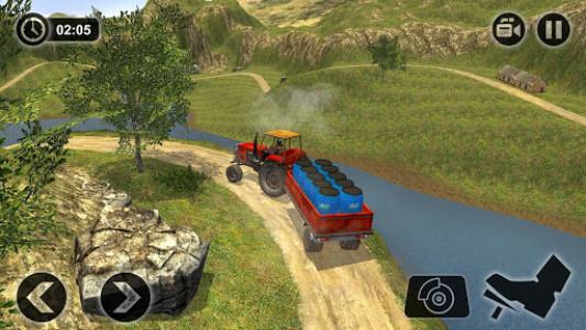 اسکرین شات بازی Offroad Tractor Farmer Simulator 2018: Cargo Drive 2