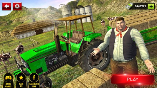 اسکرین شات بازی Offroad Tractor Farmer Simulator 2018: Cargo Drive 1