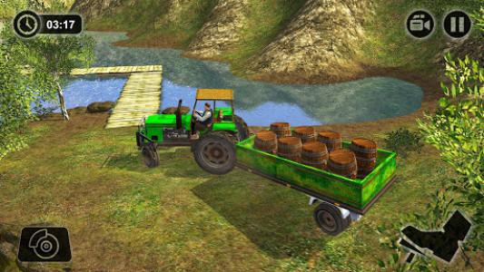 اسکرین شات بازی Offroad Tractor Farmer Simulator 2018: Cargo Drive 3