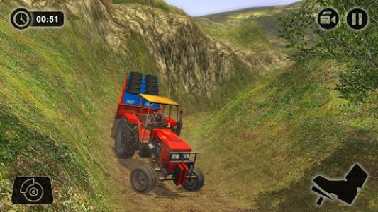 اسکرین شات بازی Offroad Tractor Farmer Simulator 2018: Cargo Drive 4