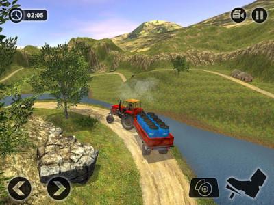 اسکرین شات بازی Offroad Tractor Farmer Simulator 2018: Cargo Drive 7