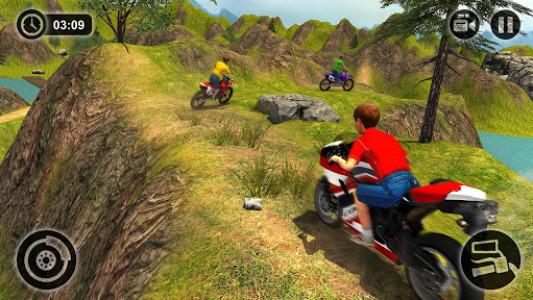 اسکرین شات بازی Kids Downhill Mountain Motorbike Riding 8