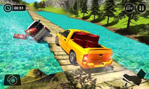 اسکرین شات بازی Offroad Hilux Pickup Truck Driving Simulator 5