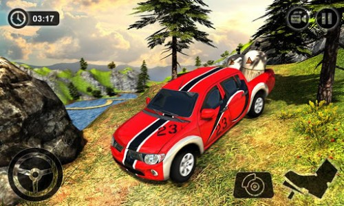 اسکرین شات بازی Offroad Hilux Pickup Truck Driving Simulator 3