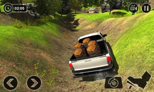 اسکرین شات بازی Offroad Hilux Pickup Truck Driving Simulator 2