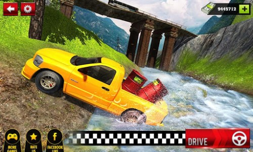 اسکرین شات بازی Offroad Hilux Pickup Truck Driving Simulator 1