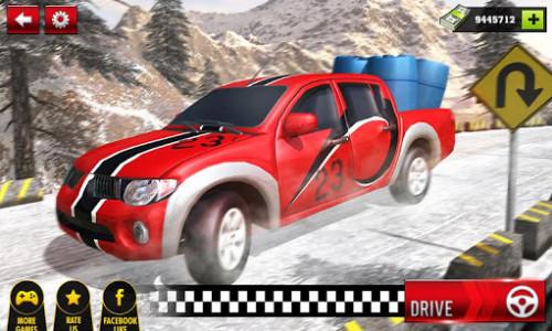 اسکرین شات بازی Uphill Cargo Pickup Truck Driving Simulator 2017 1