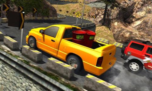 اسکرین شات بازی Uphill Cargo Pickup Truck Driving Simulator 2017 5