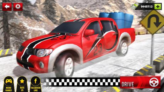 اسکرین شات بازی Uphill Cargo Pickup Truck Driving Simulator 2017 7